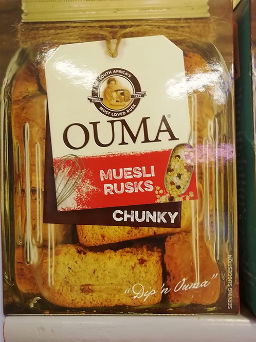 Ouma Rusks Muesli Chunky