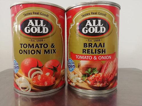 All Gold Tomato Braai  Relish