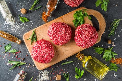 Pure Beef Burgers 1/4lb