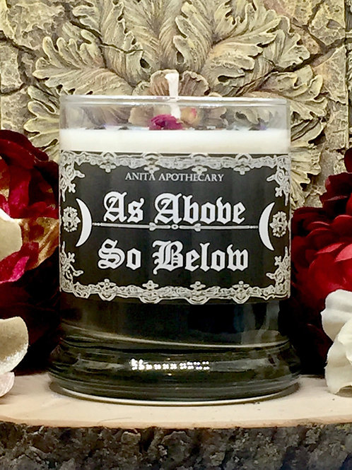 As Above-So Below Ritual Candle