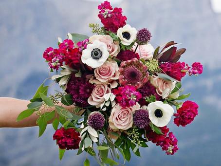 Profissionalização em buquês de noiva e adornos florais