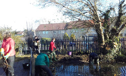 Mossgate School pond