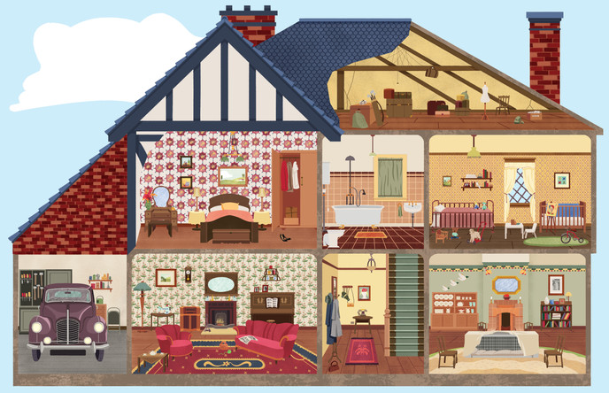 1940s War Time House