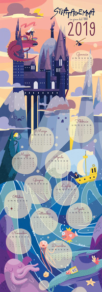 Illustrated Calendar 2019