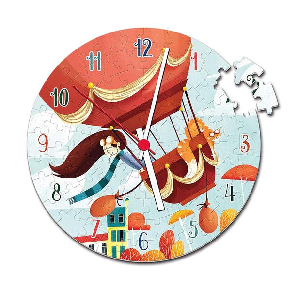 Clock Puzzle, Super Color Puzzle, Clementoni