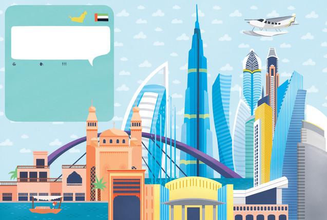 Alante delle Città  - Dubai