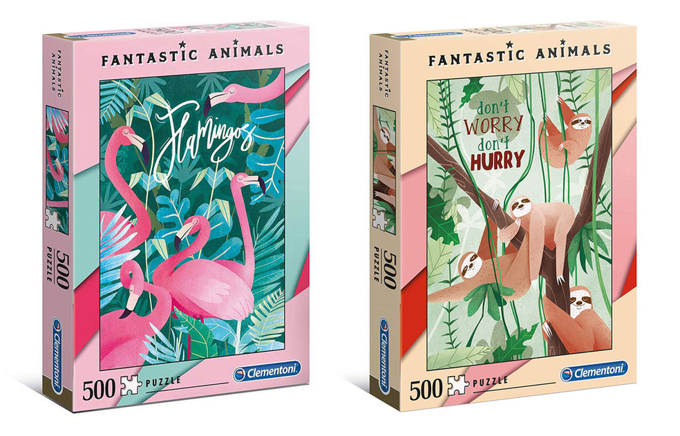 Fantastic Animals, High Quality Collection Puzzles