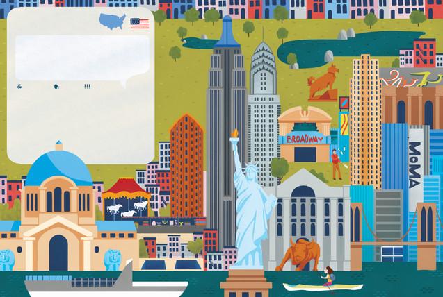 Alante delle Città  - New York