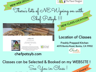 New Web Design, New Class Location !