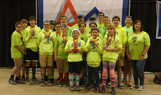 Techno Trojans II finalists at Michigan State FTC Championships