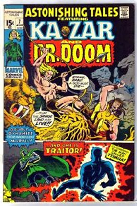 Astonishing Tales: Ka-Zar & Dr. Doom