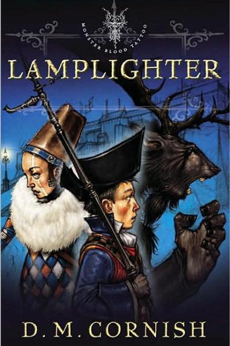 Lamplighter (Monster Blood Tattoo Series #2) *Mint