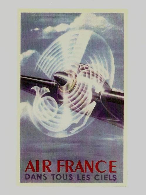 Air France Dans Tour Les Ciels