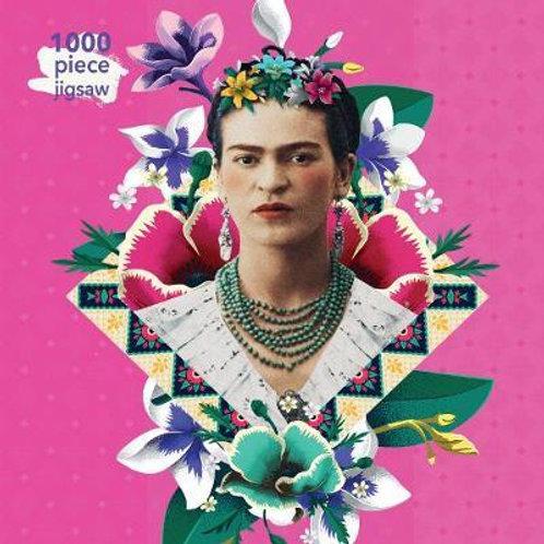 Frida Kahlo Pink: 1000 Piece Puzzle