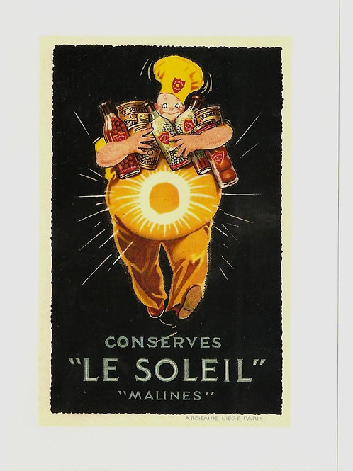 "Conserves ""Le Soliel"" -- ""Malines"""