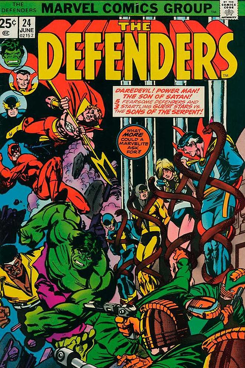 Defenders, The, Edition# 24 Comic – June 1, 1975