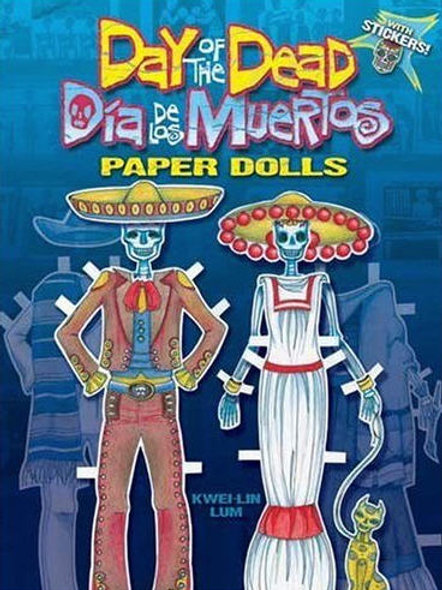 Day of the Dead/Dia de Los Muertos Paper Dolls