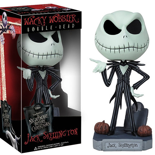 Jack Skellington Wacky Wobbler