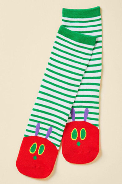 Hungry Caterpillar Socks