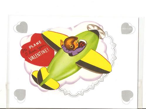 It's Plane I Love You Valentine!