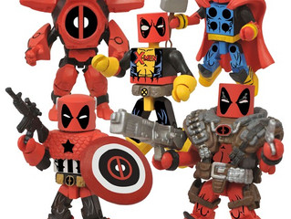 Deadpool wants his own Marvel Minimates four-pack all to himself, and he's just crazy enough to