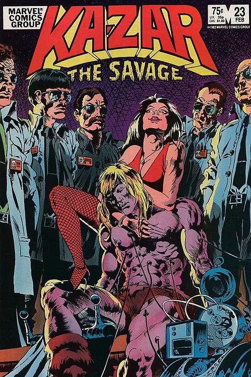 Ka-Zar The Savage (Marvel Comic #23) February 1983