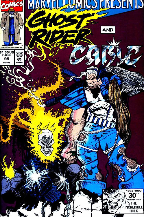 Marvel Comics Presents : Ghost Rider and Cable -