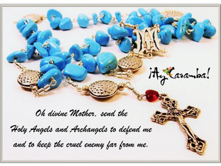 Our rosaries are designed to inspire and delight the heart...