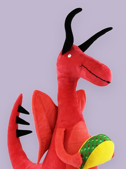 """Dragons Love Tacos Giant Doll: 20"""""""