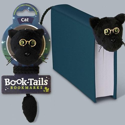 Book-Tails Bookmark - Black Cat