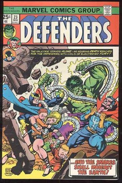 Defenders, v1 #23. May 1975 Comic – May 1, 1975