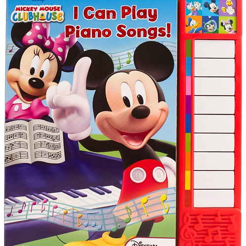 Disney Mickey Mouse Clubhouse: I Can Play Piano Songs!