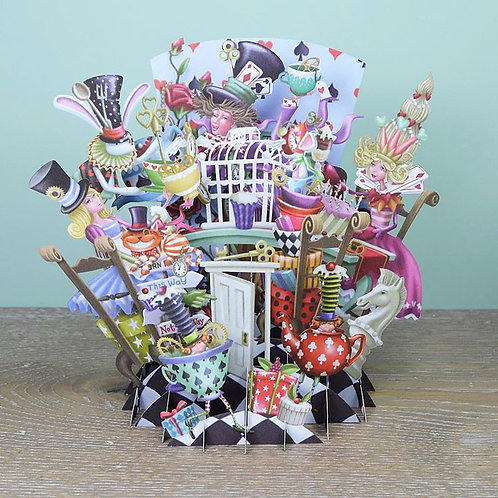 """Paper d'Art """"party"""" Happy Birthday 3D Pop Up Greeting Card"""