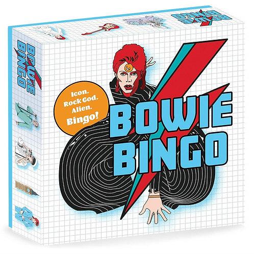 Bowie Bingo: Icon. Rock God. Alien. Bingo!