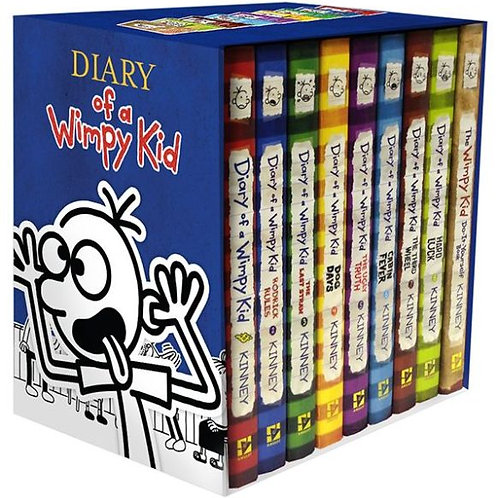 Diary of a Wimpy Kid - Box of Books 1-8