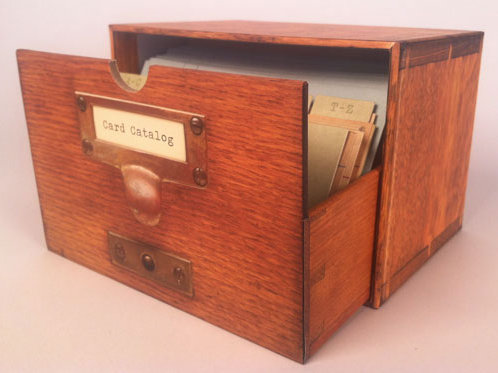 Card Catalog: 30 Notecards from the Library