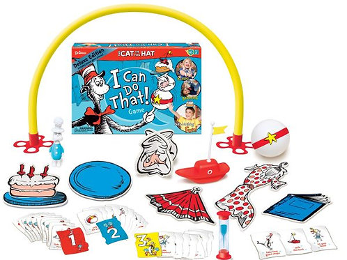 Dr. Seuss the Cat in the Hat I Can Do That! Game