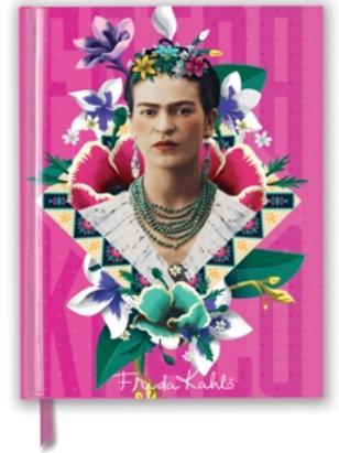 Frida Kahlo Pink Foiled Journal