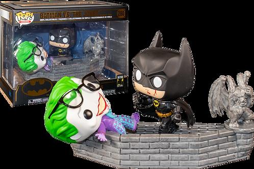 Pop! DC Comic Moment Batman and Joker