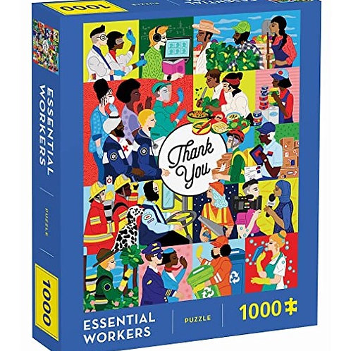 Essential Workers 1000 Piece Puzzle