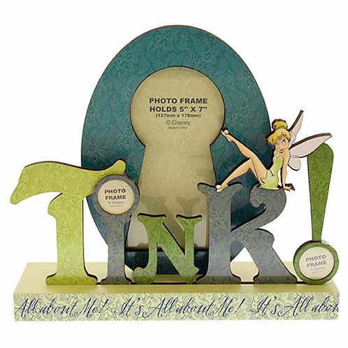 It's All About Me:Tinkerbell Word Picture Frame