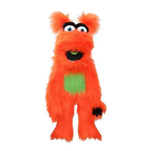 Friendly Orange Monster Hand Puppet