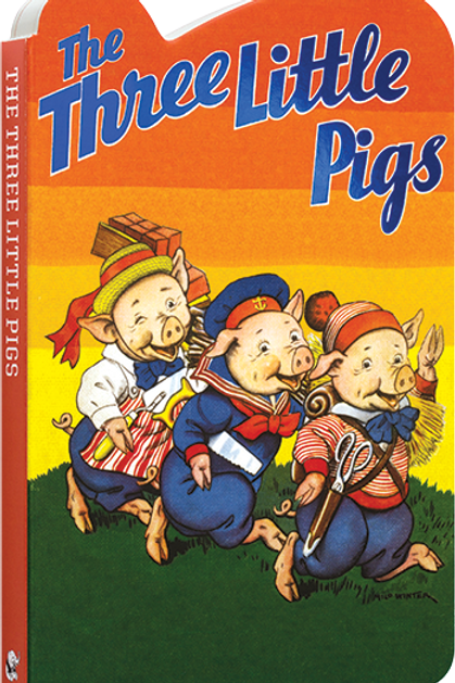 The Three Little Pigs - Board Book