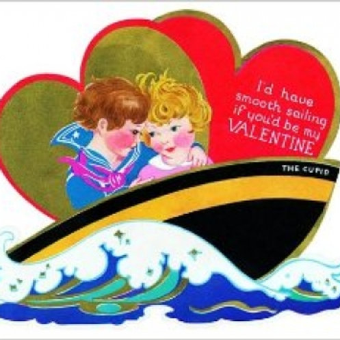 I'd have smooth sailing if you'd be my Valentine