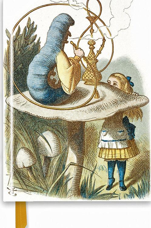 John Tenniel Alice and Absolem Journal