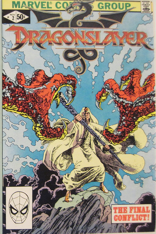 Dragonslayer #2 The Final Conflict Comic – 1981