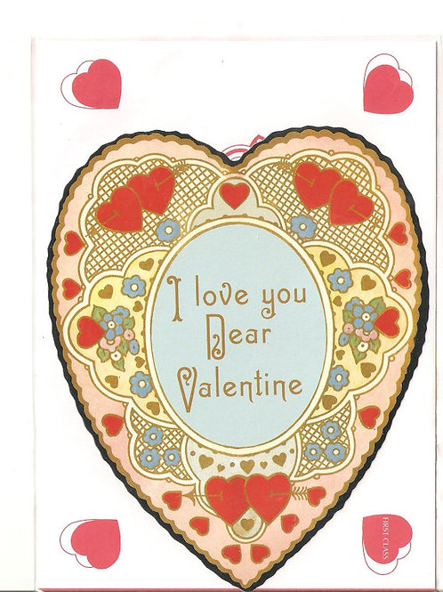 I Love You Dear Valentine