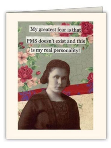 My Greatest Fear Is That PMS Doesn't Exist