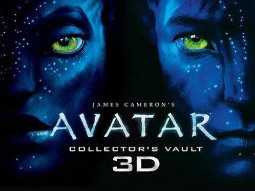 James Cameron's Avatar Collector's Vault Book 3D