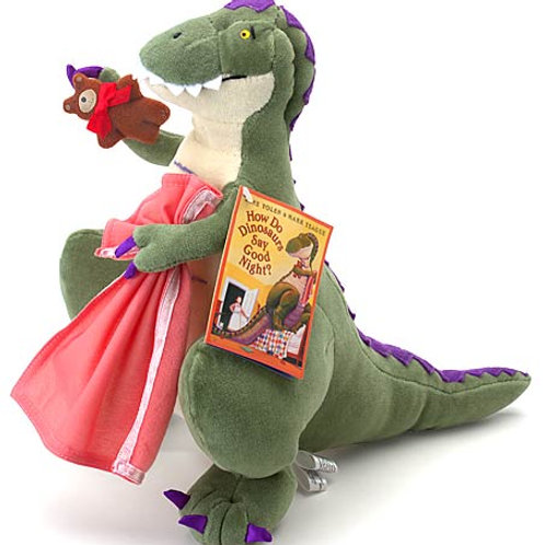 How Do Dinosaurs Say Goodnight Doll